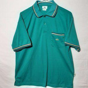 Mens Medium Lacoste Polo Short Short Sleeve